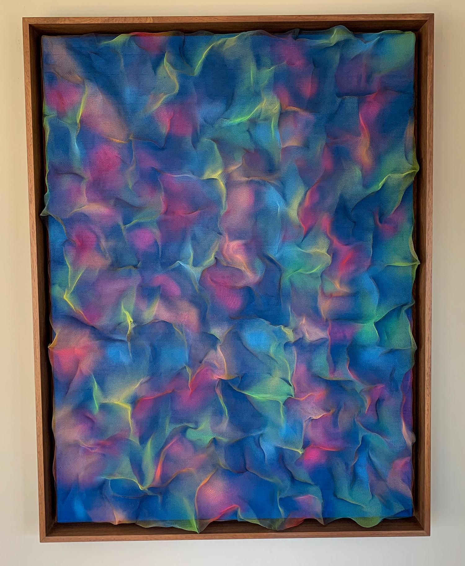 Fraser Renton Art - Sapphire Burst